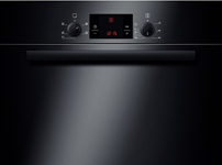 Built-in single 3D hot air oven HBA13B160B black