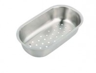(EA09) Contract inset 1.5 bowl kitchen sink and drainer Half Bowl Colander CL09