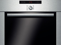 HBA64B251B brushed steel Multi Function active clean oven