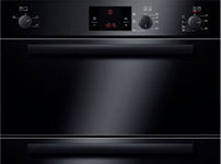 HBN13B261B black built under double hot air oven
