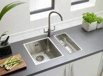 Onyx 4034 Medium Bowl Flush Inset Sink advert
