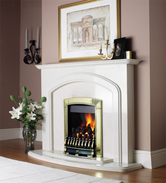 Flavel Caress Traditional Inset Gas Fire Image