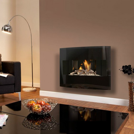 Flavel Castelle Slimline Wall Mounted Gas Fire Image