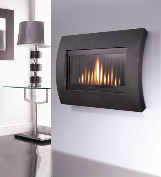 Flavel Curve Hang on the Wall Gas Fire Image