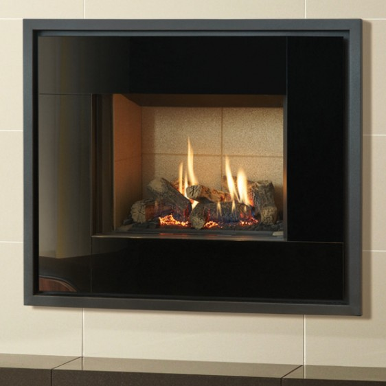 Gazco Riva2 500 Icon Glass Balanced Flue Gas Fire Image