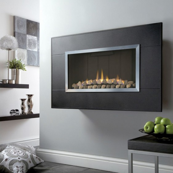 Kinder Limours Wall Mounted Balanced Flue Gas Fire Image