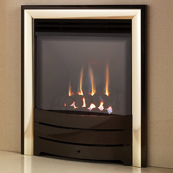 Legend Evora HE Gas Fire – Fascia Model Image
