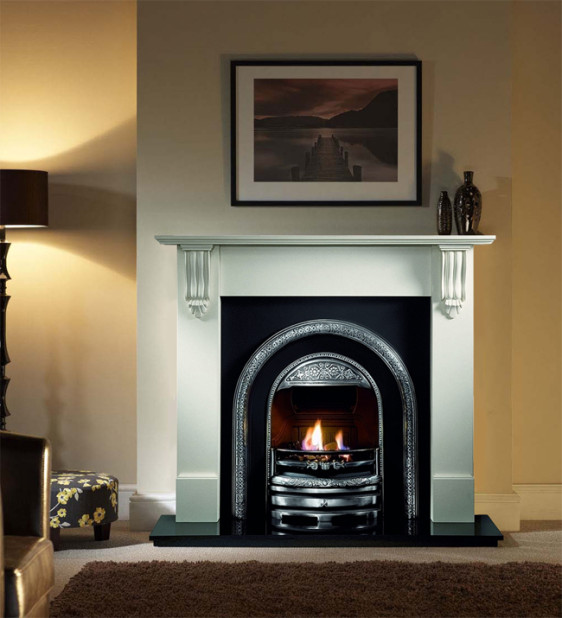Gallery Bolton Cast Iron Arched Insert Image