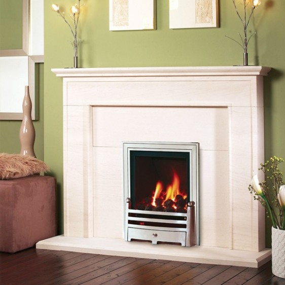 Kinder Kalahari Powerflue Gas Fire Image