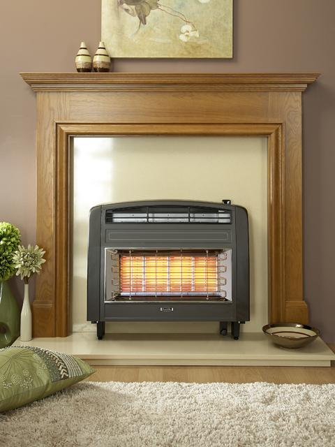 Flavel Strata Radiant Outset Gas Fire Image