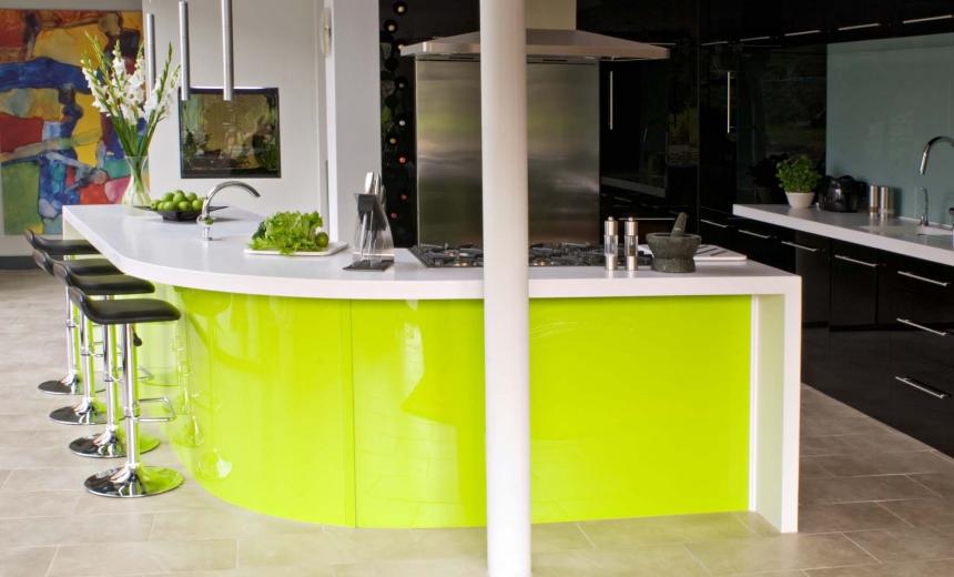 Lime Green Kitchen Designs