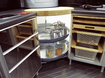 Mondo carousel corner unit for 935 mm wide cabinets & Kitchen Storage Racks - Xcel Kitchens