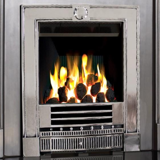 Gazco Logic HE Winchester Balanced Flue Convector Gas Fire Image