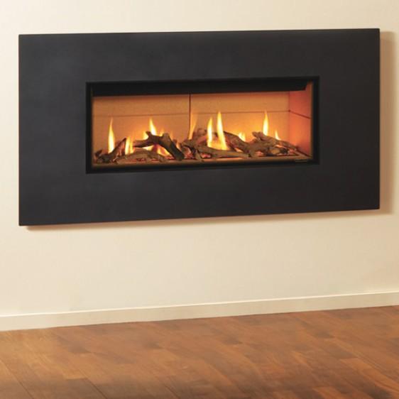 Gazco Studio 2 Steel Gas Fire Image