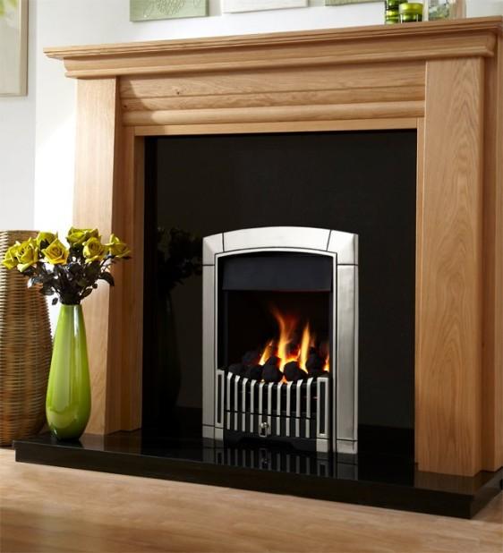 Flavel Caress Plus Contemporary HE Gas Fire Image